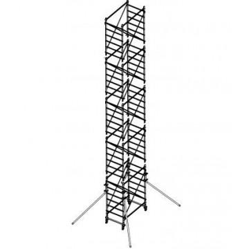 Trabattello in alluminio DOGE 65 H.10.30 mt lavoro