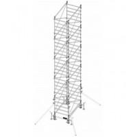 Trabattello in alluminio DOGE 80 H. 8.90 mt Lavoro ( solo struttura)