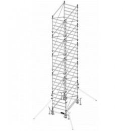 Trabattello in alluminio DOGE 80 H. 8.90 mt Lavoro