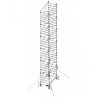 Trabattello in alluminio DOGE 80 H. 10.40 mt Lavoro ( Solo struttura )