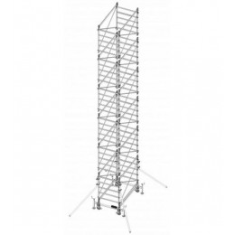 Trabattello in alluminio DOGE 80 H. 10.40 mt Lavoro