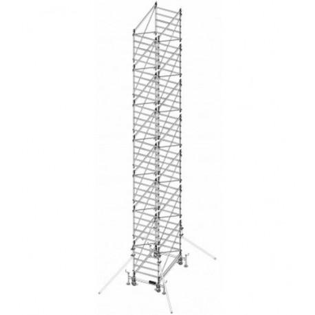 Trabattello in alluminio DOGE 80 H. 11.90 mt Lavoro ( solo struttura)