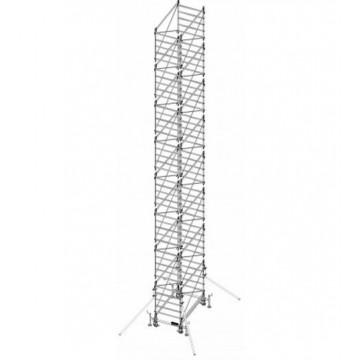 Trabattello in alluminio DOGE 80 H. 13.40 mt Lavoro