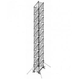 Aluminum scaffold DOGE 80 H. 14.94 m Working