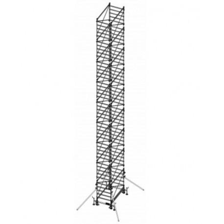 Trabattello in alluminio DOGE 80 H. 14.94 mt Lavoro ( solo struttura)