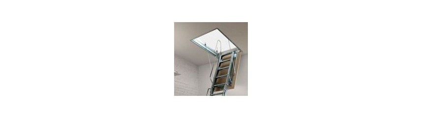 MANUAL RETRACTABLE LADDERS