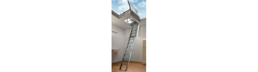 RETRACTABLE LADDERS FOR TERRACE