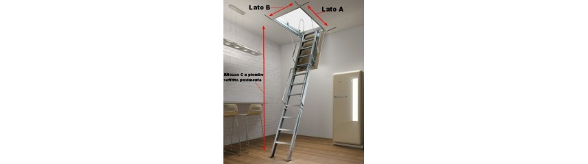SPECIAL RETRACTABLE LADDERS