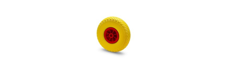FULL-RUBBER WHEELS