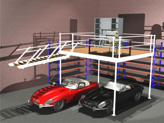 Soppalco fai da te for Come costruire un garage distaccato